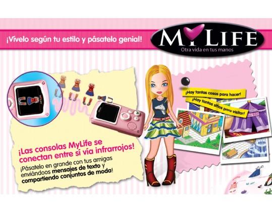 MY LIFE: una consola femenina 298-21100