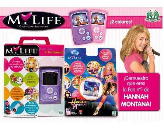 MY LIFE: una consola femenina 298-21116