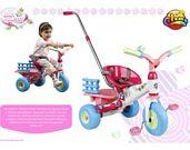 Triciclo volquete con palo princess