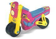 Correpasillos moto rosa
