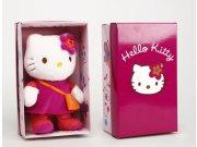 Peluche Hello Kitty c/bolsito, 28 cms. caja