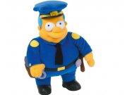 Peluche Jefe Wiggum Simpsons 31 cm.