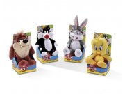 Peluches Looney Tunes Floppies 4 asst