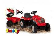 Tractor gm remolque rojo